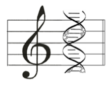 genetic music logo